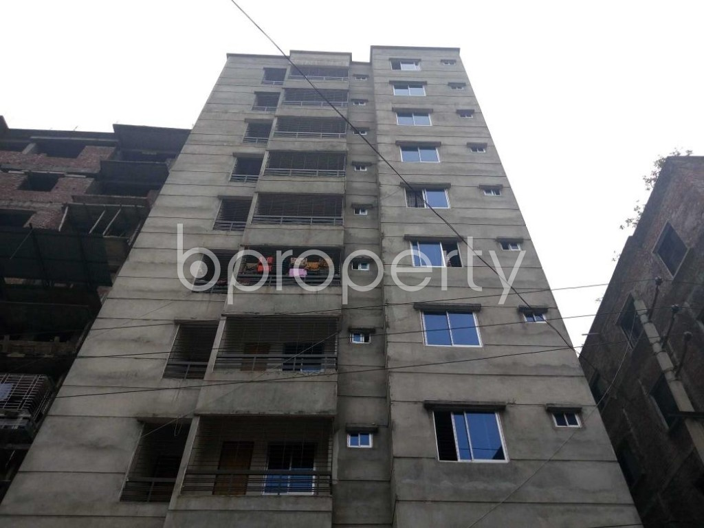 Front view - 2 Bed Apartment for Sale in Maniknagar, Dhaka - 1863951