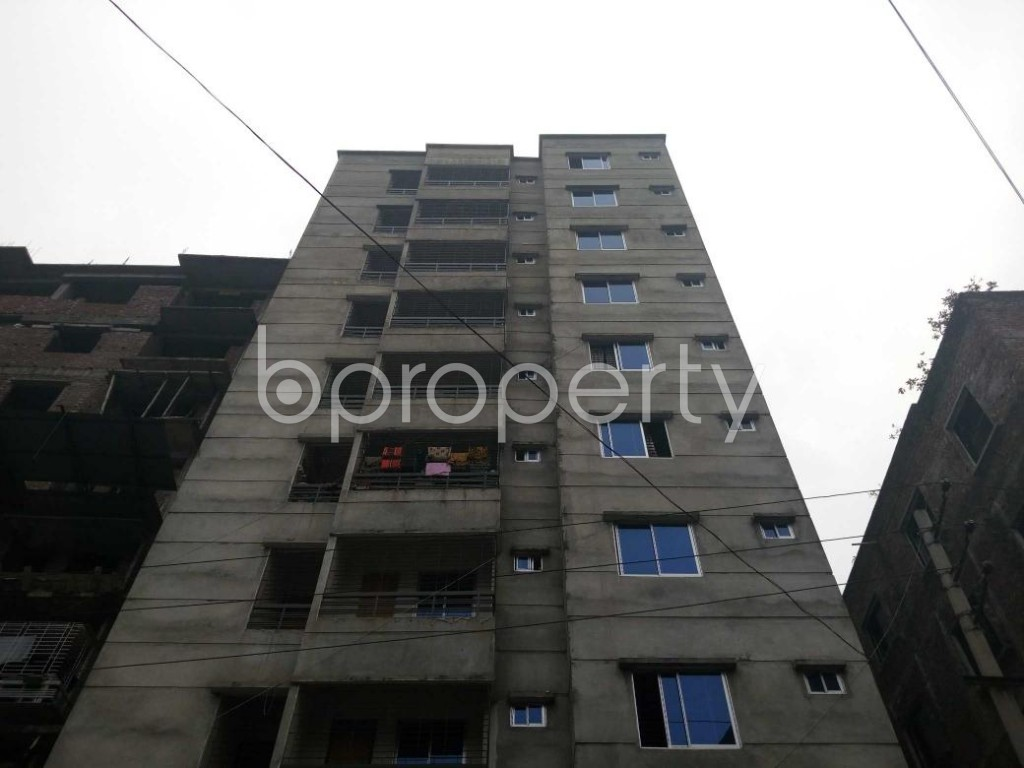 Front view - 2 Bed Apartment for Sale in Maniknagar, Dhaka - 1863952