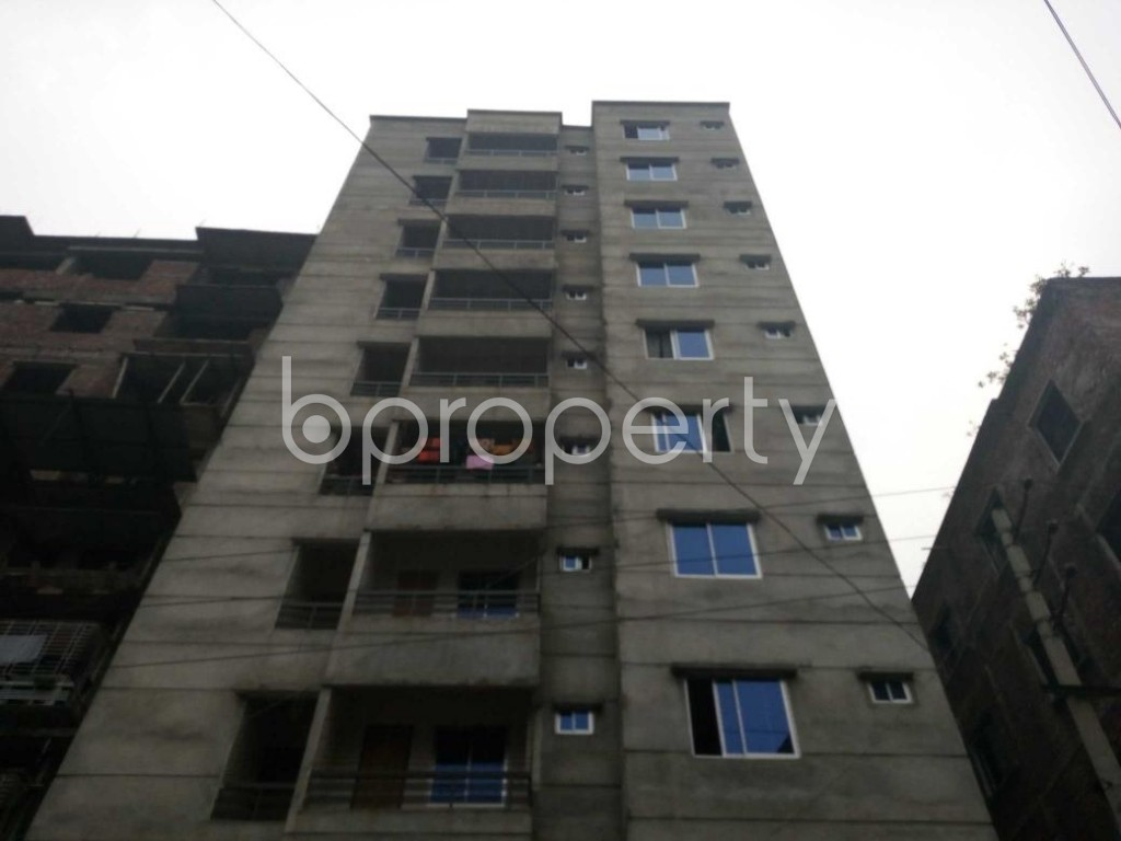 Front view - 2 Bed Apartment for Sale in Maniknagar, Dhaka - 1863953