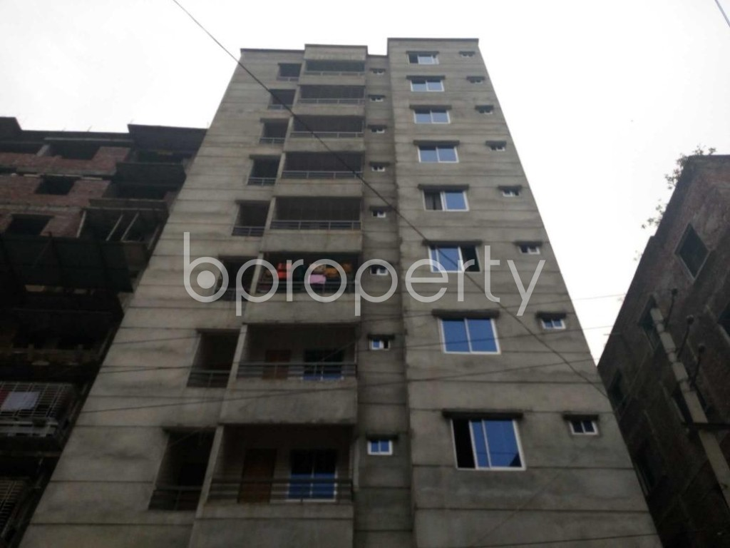 Front view - 2 Bed Apartment for Sale in Maniknagar, Dhaka - 1863955