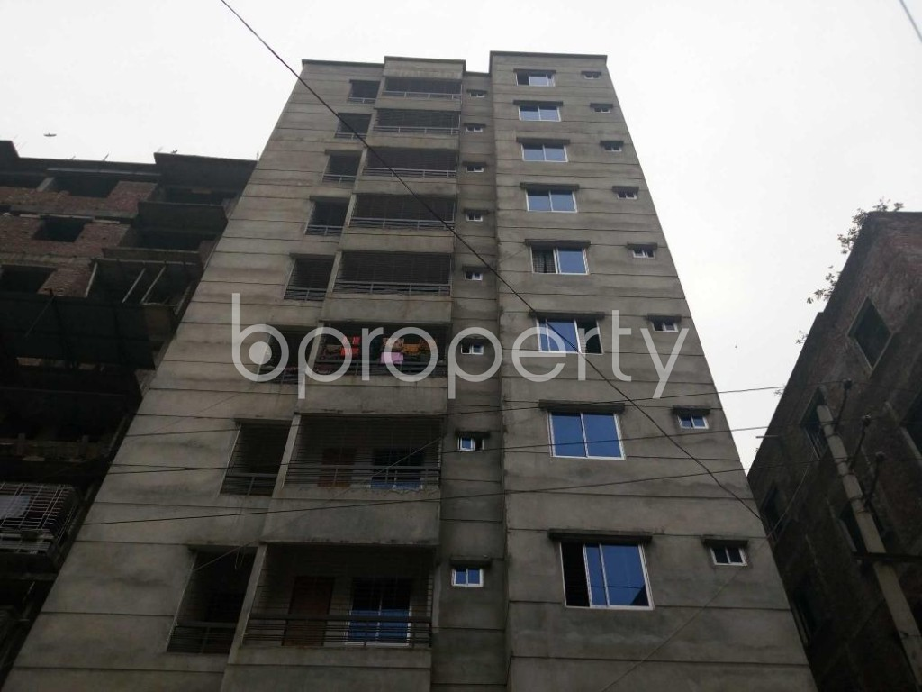 Front view - 2 Bed Apartment for Sale in Maniknagar, Dhaka - 1863957
