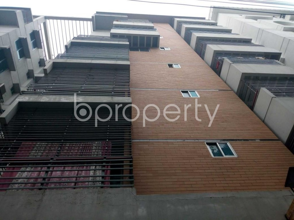 Front view - 3 Bed Apartment for Sale in Uttara, Dhaka - 1864549