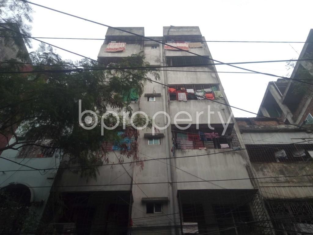 Front view - 2 Bed Apartment for Sale in Lalmatia, Dhaka - 1864599