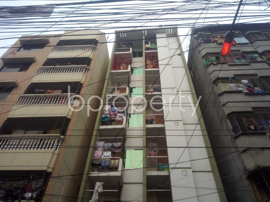 Front view - 2 Bed Apartment for Sale in Lalmatia, Dhaka - 1864627