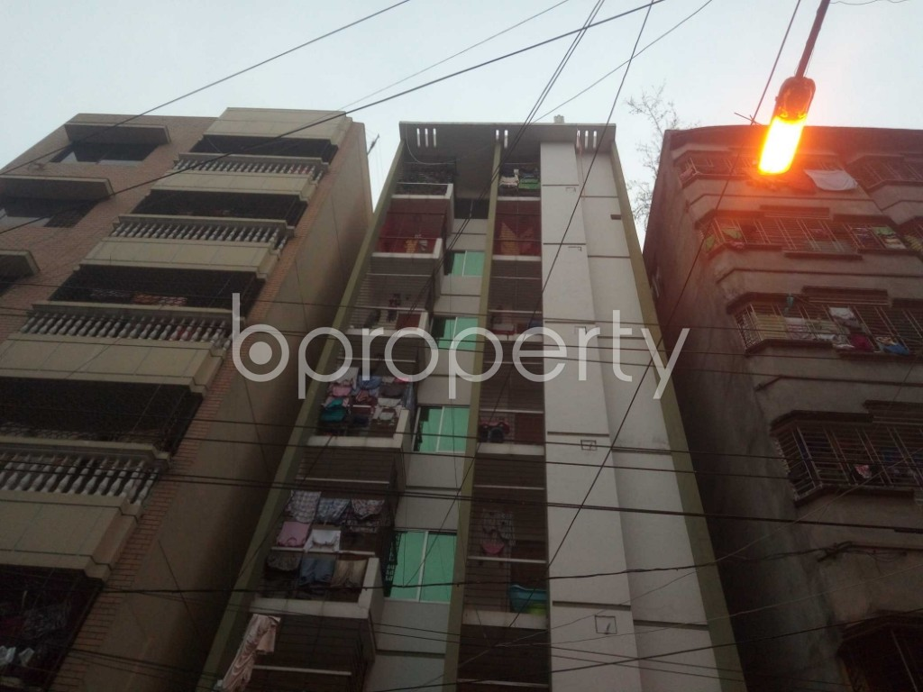 Front view - 3 Bed Apartment for Sale in Lalmatia, Dhaka - 1864630