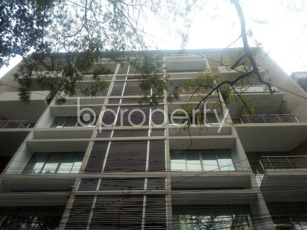 Front view - 4 Bed Apartment for Sale in Banani, Dhaka - 1864796