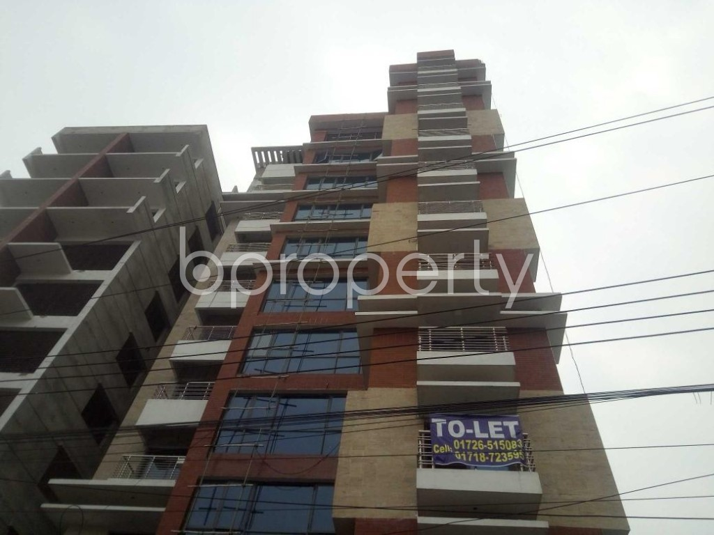 Front view - 4 Bed Apartment to Rent in Baridhara, Dhaka - 1864777
