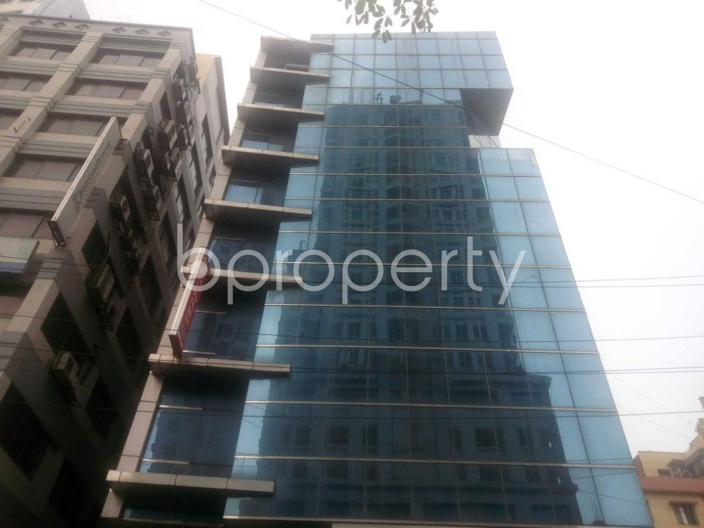Front view - Office for Sale in Kalabagan, Dhaka - 1864811