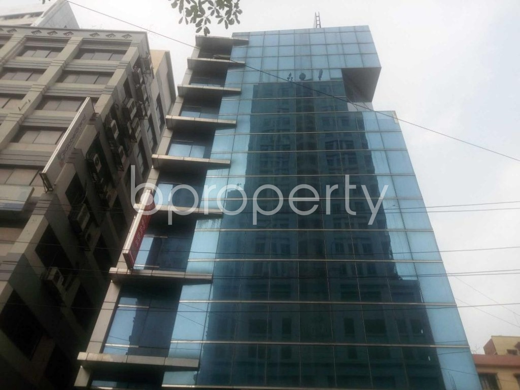Front view - Office for Sale in Kalabagan, Dhaka - 1864812