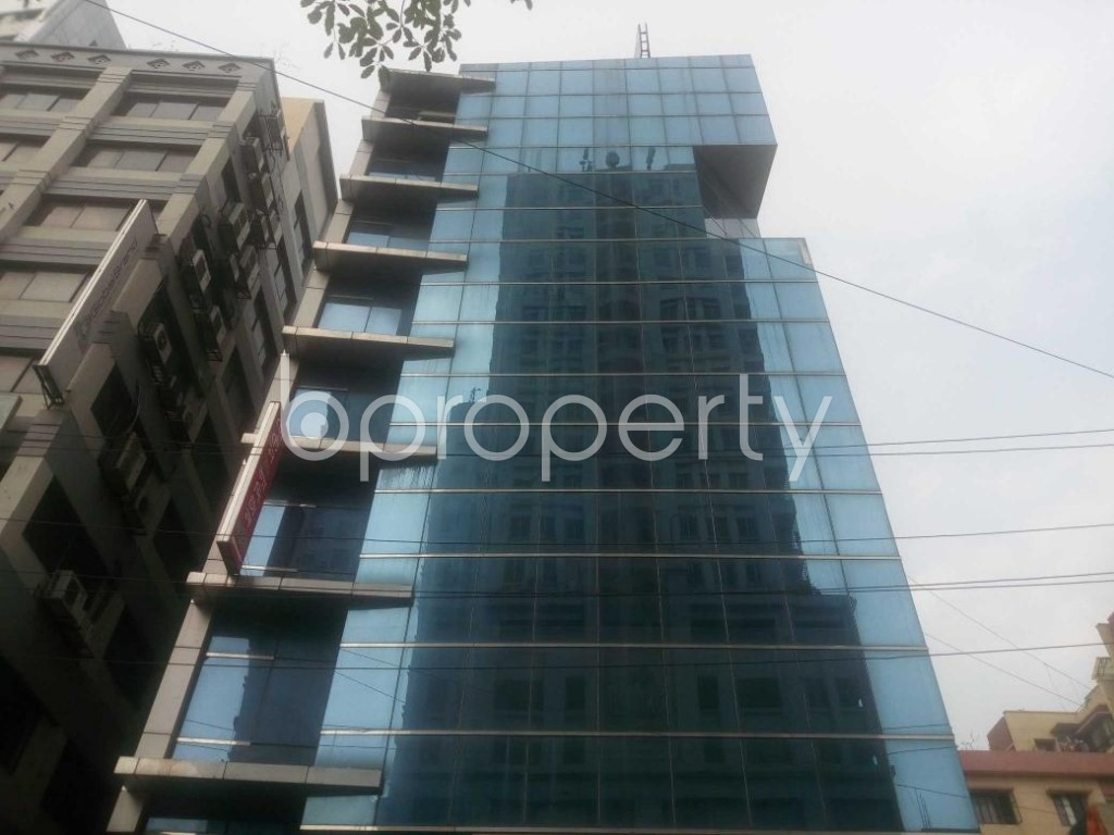 Front view - Office for Sale in Kalabagan, Dhaka - 1864814