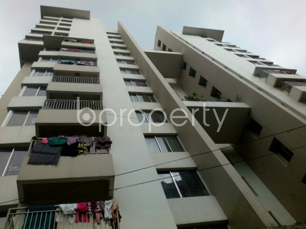 Outside view - 3 Bed Apartment for Sale in 15 No. Bagmoniram Ward, Chattogram - 1865152