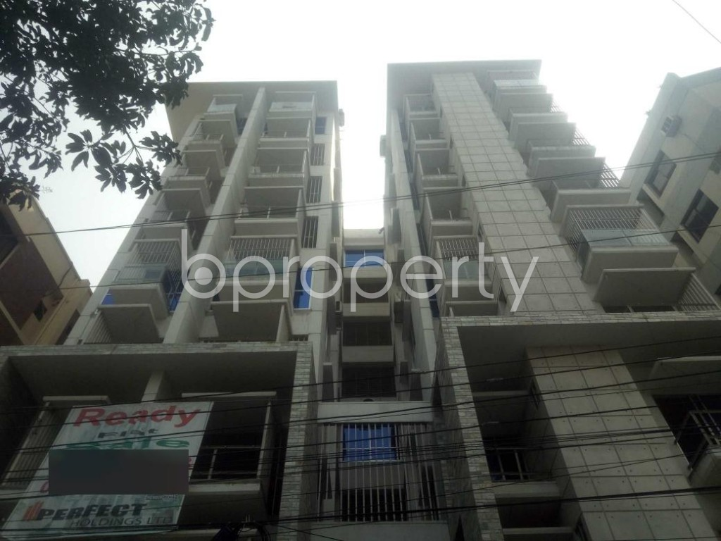 Front view - 3 Bed Apartment for Sale in Lalmatia, Dhaka - 1865241