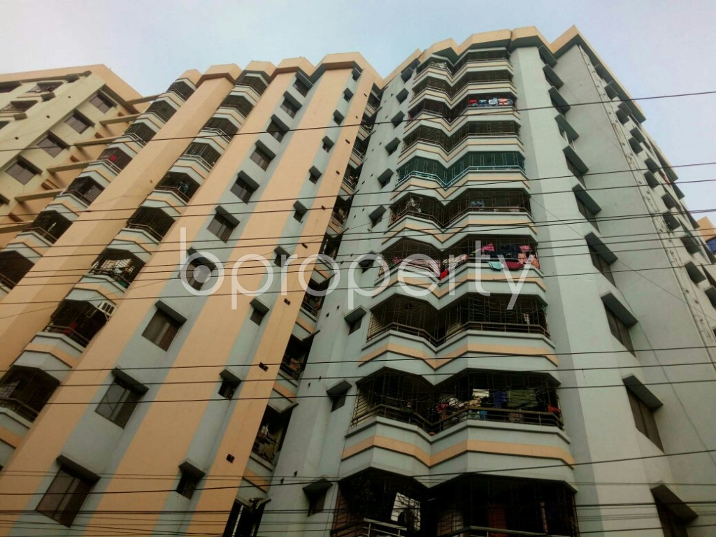 Outside view - 3 Bed Apartment for Sale in 15 No. Bagmoniram Ward, Chattogram - 1865527