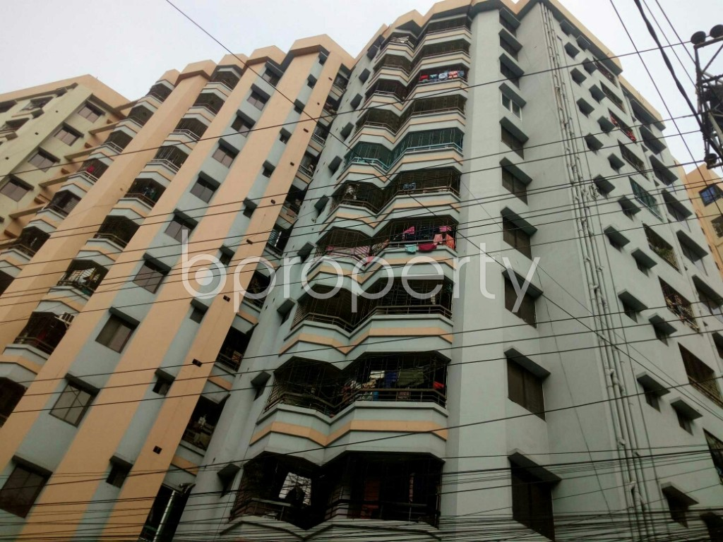 Outside view - 3 Bed Apartment for Sale in 15 No. Bagmoniram Ward, Chattogram - 1865529