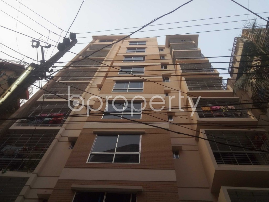 Front view - 3 Bed Apartment for Sale in Shyamoli, Dhaka - 1865549