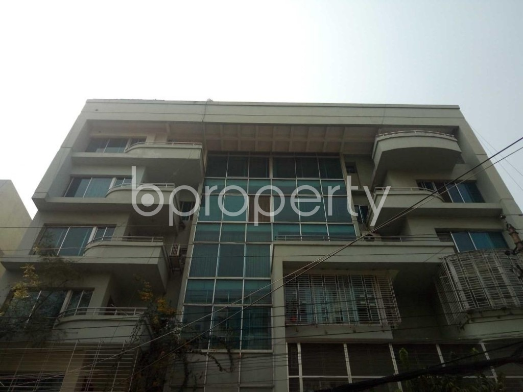 Front view - 4 Bed Apartment for Sale in Gulshan, Dhaka - 1865761