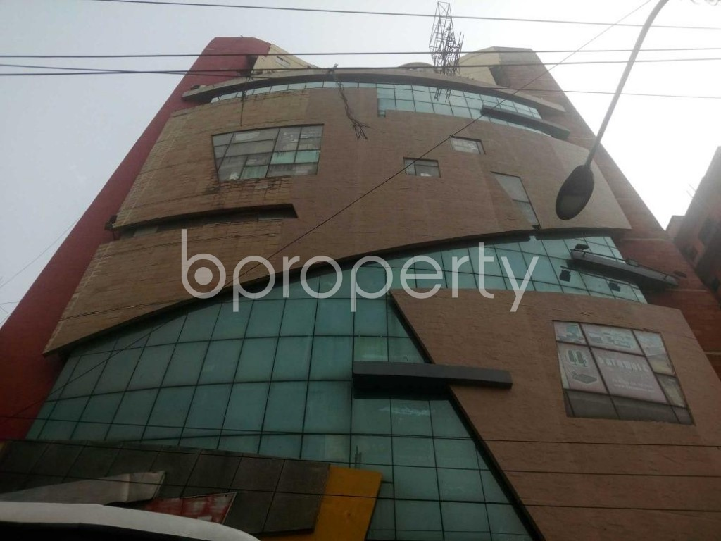 Front view - Office for Sale in New Market, Dhaka - 1866388