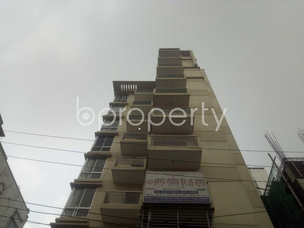 Front view - 3 Bed Apartment to Rent in Baridhara, Dhaka - 1866464