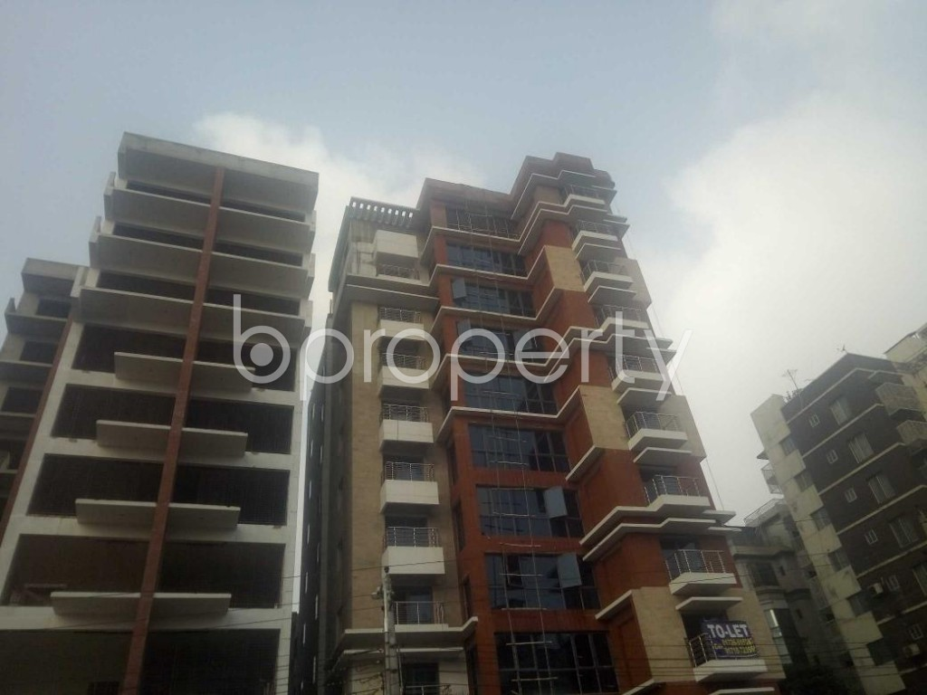 Front view - 4 Bed Apartment to Rent in Baridhara, Dhaka - 1866638