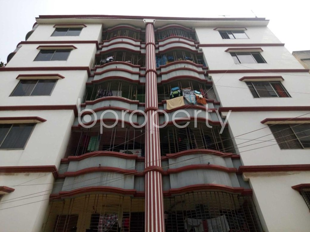 Front view - 3 Bed Apartment for Sale in Mohammadpur, Dhaka - 1866695