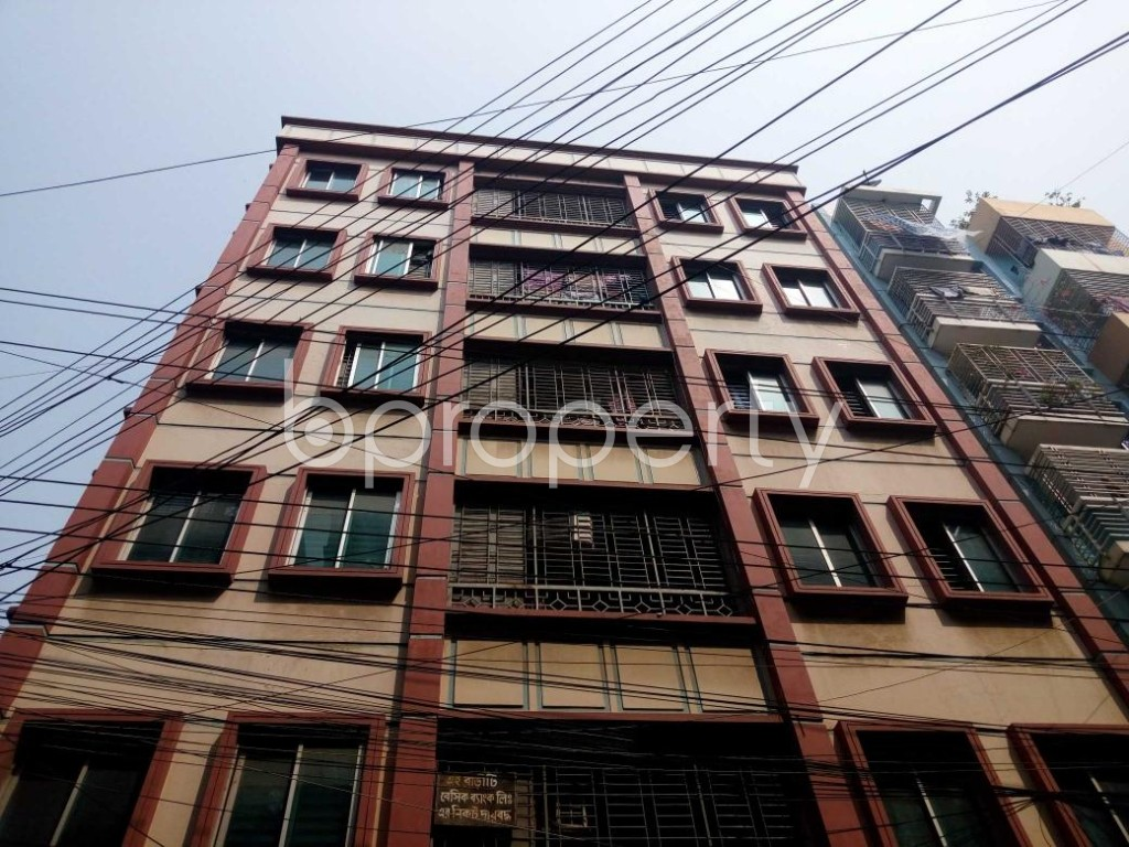 Front view - 3 Bed Apartment to Rent in Uttara, Dhaka - 1867353
