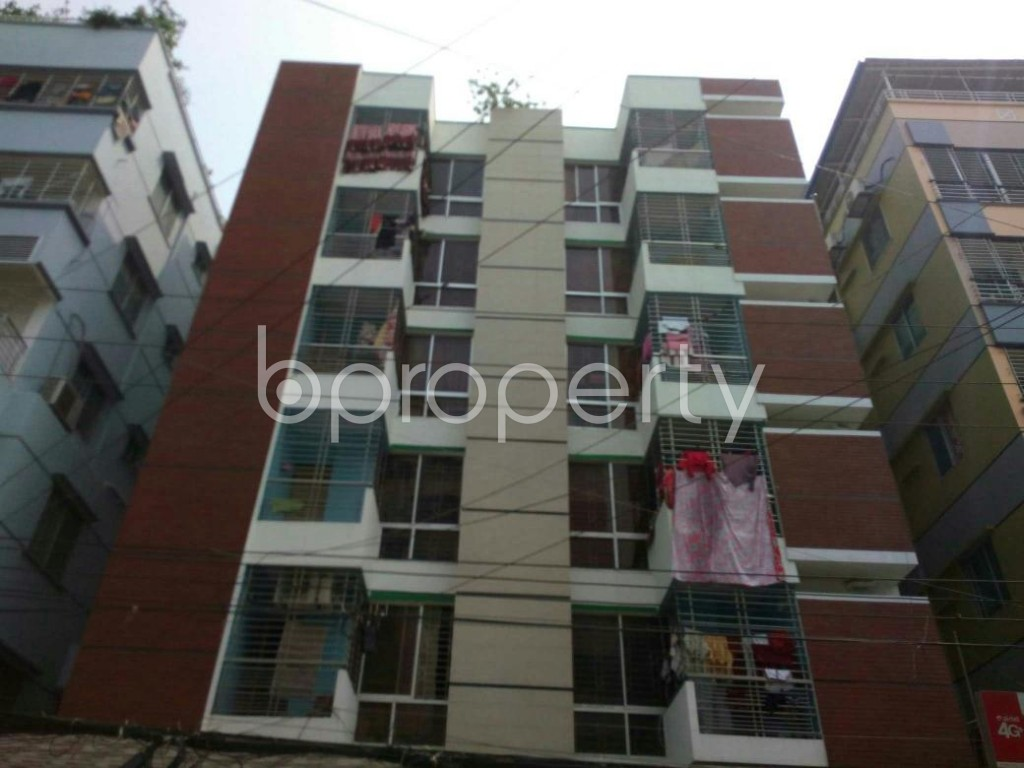 Front view - 3 Bed Apartment to Rent in Uttara, Dhaka - 1867504