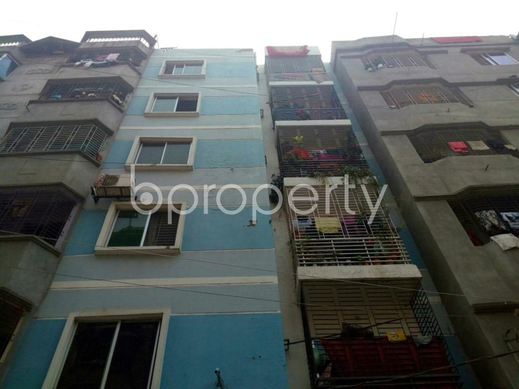Front view - 2 Bed Apartment to Rent in Mirpur, Dhaka - 1867626