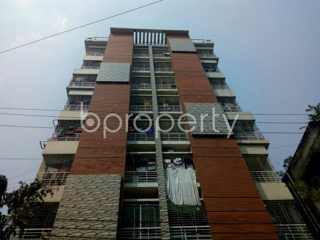Front view - 3 Bed Apartment to Rent in Mirpur, Dhaka - 1867677
