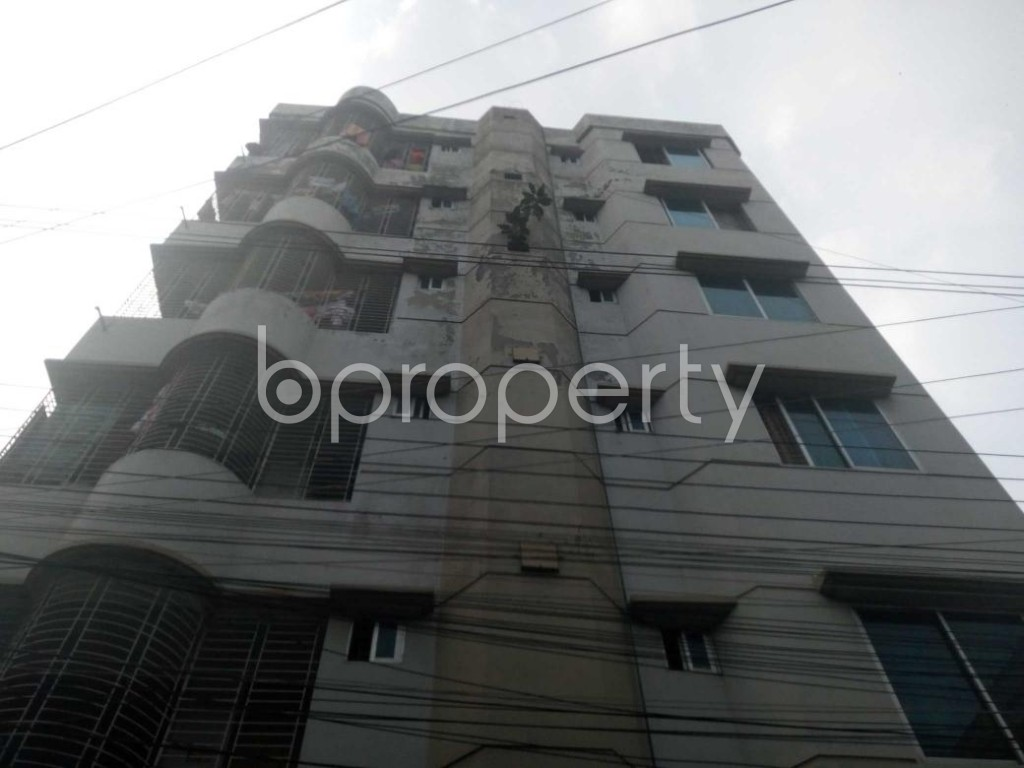 Front view - 3 Bed Apartment to Rent in Uttara, Dhaka - 1867712