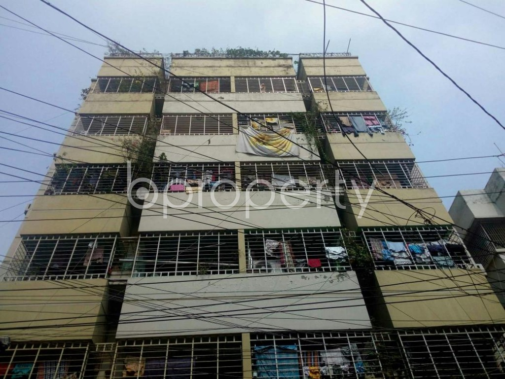 Front view - 3 Bed Apartment to Rent in Mirpur, Dhaka - 1867738