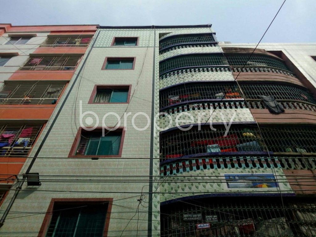 Front view - 1 Bed Apartment to Rent in Mirpur, Dhaka - 1867753