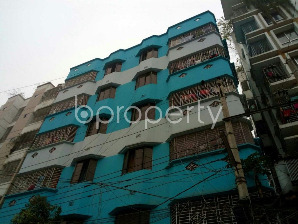 Outside view - 3 Bed Apartment to Rent in Mirpur, Dhaka - 1867777