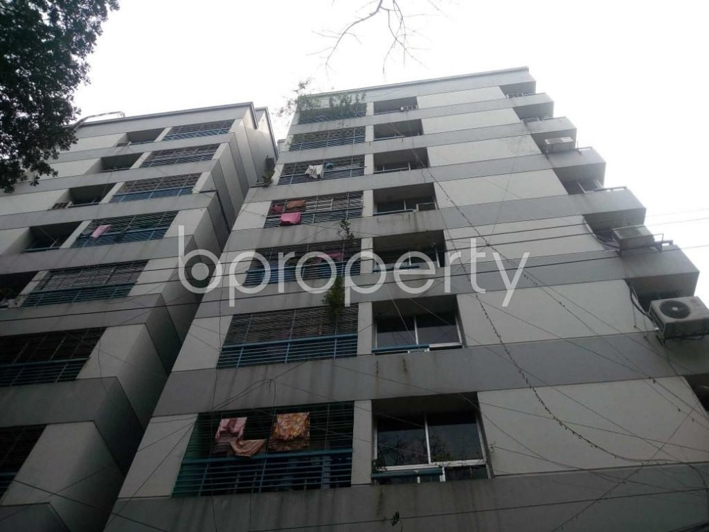 Front view - 3 Bed Apartment for Sale in Shegunbagicha, Dhaka - 1868821