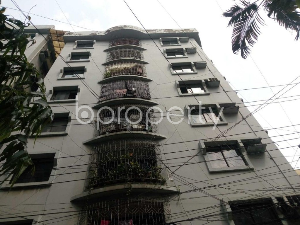 Front view - 3 Bed Apartment for Sale in Shegunbagicha, Dhaka - 1868837