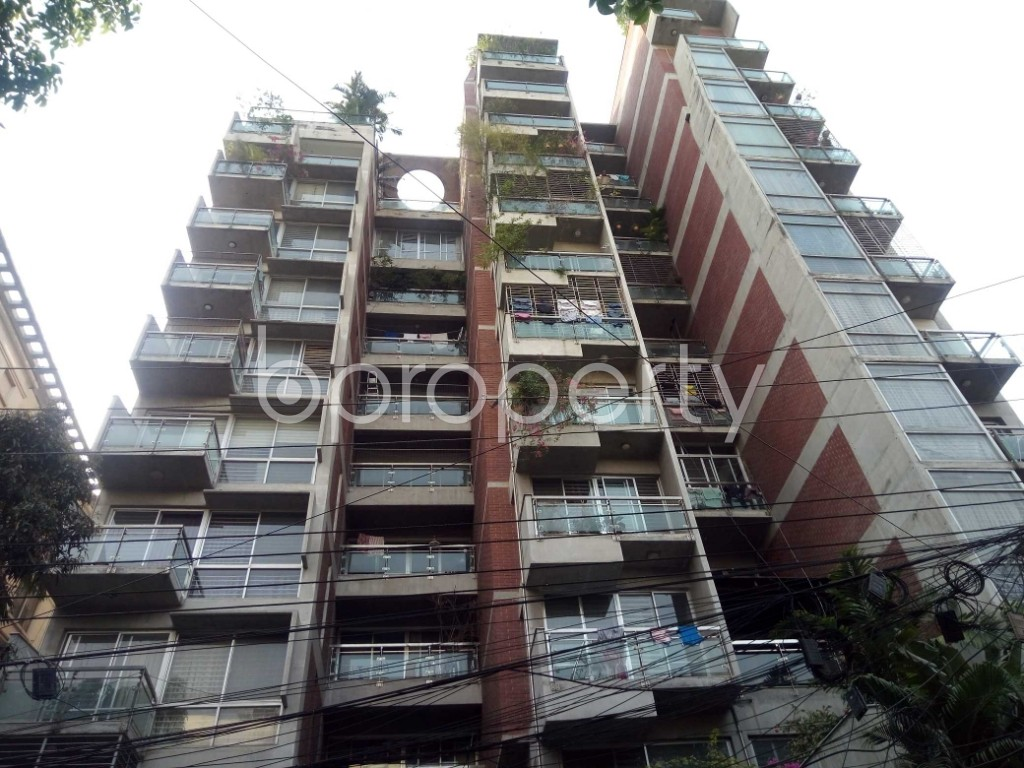 Front view - 4 Bed Apartment for Sale in Banani, Dhaka - 1869660