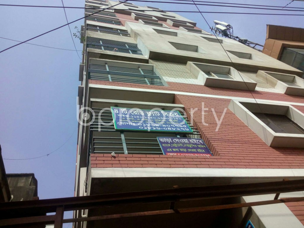Outside view - 3 Bed Apartment for Sale in Halishahar, Chattogram - 1870162