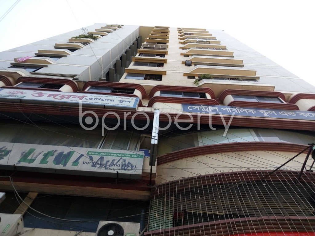 Front view - 3 Bed Apartment for Sale in Kazir Dewri, Chattogram - 1870406