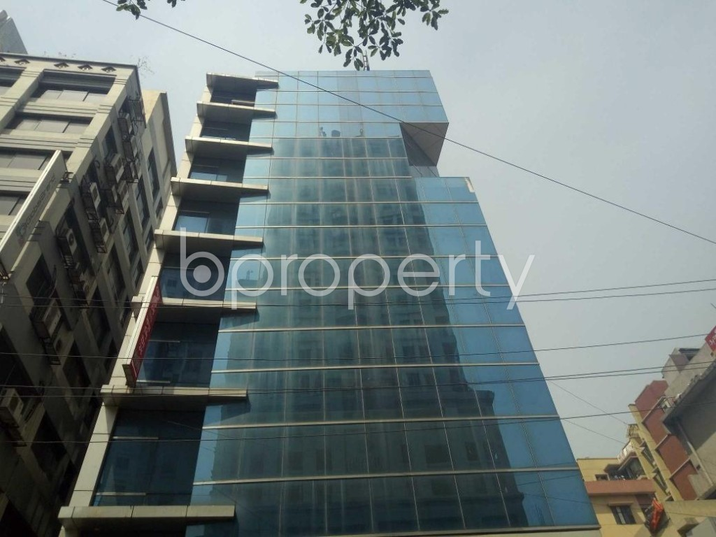 Front view - Office for Sale in Kalabagan, Dhaka - 1870535