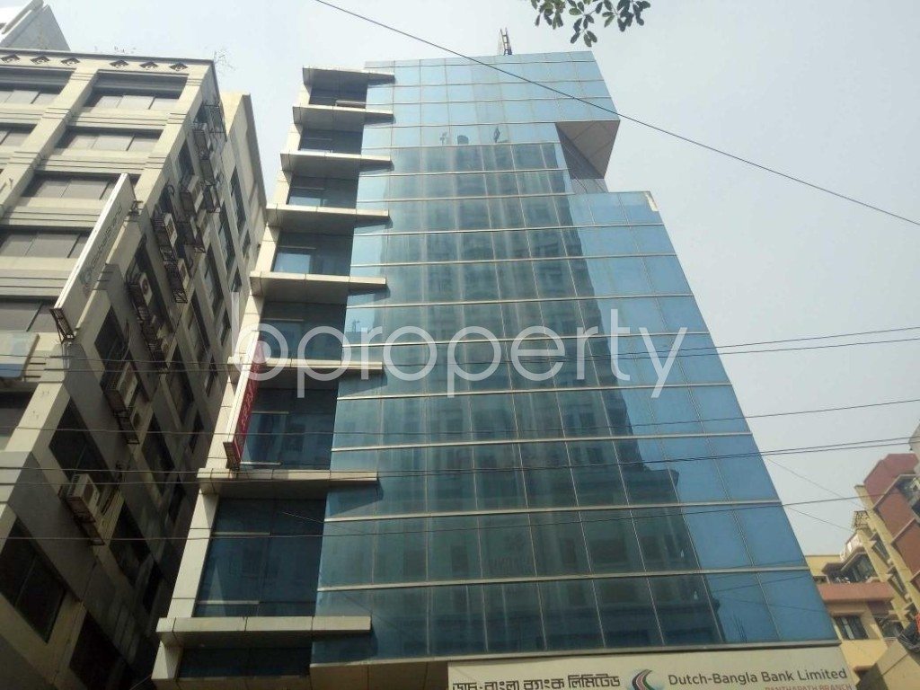 Front view - Office for Sale in Kalabagan, Dhaka - 1870538