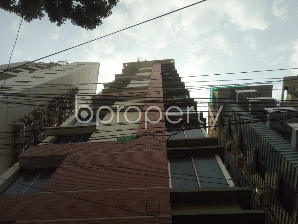 Front view - 3 Bed Apartment for Sale in Lalmatia, Dhaka - 1871157