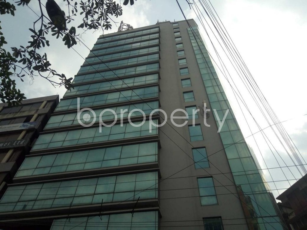 Front view - Office for Sale in Kalabagan, Dhaka - 1871218
