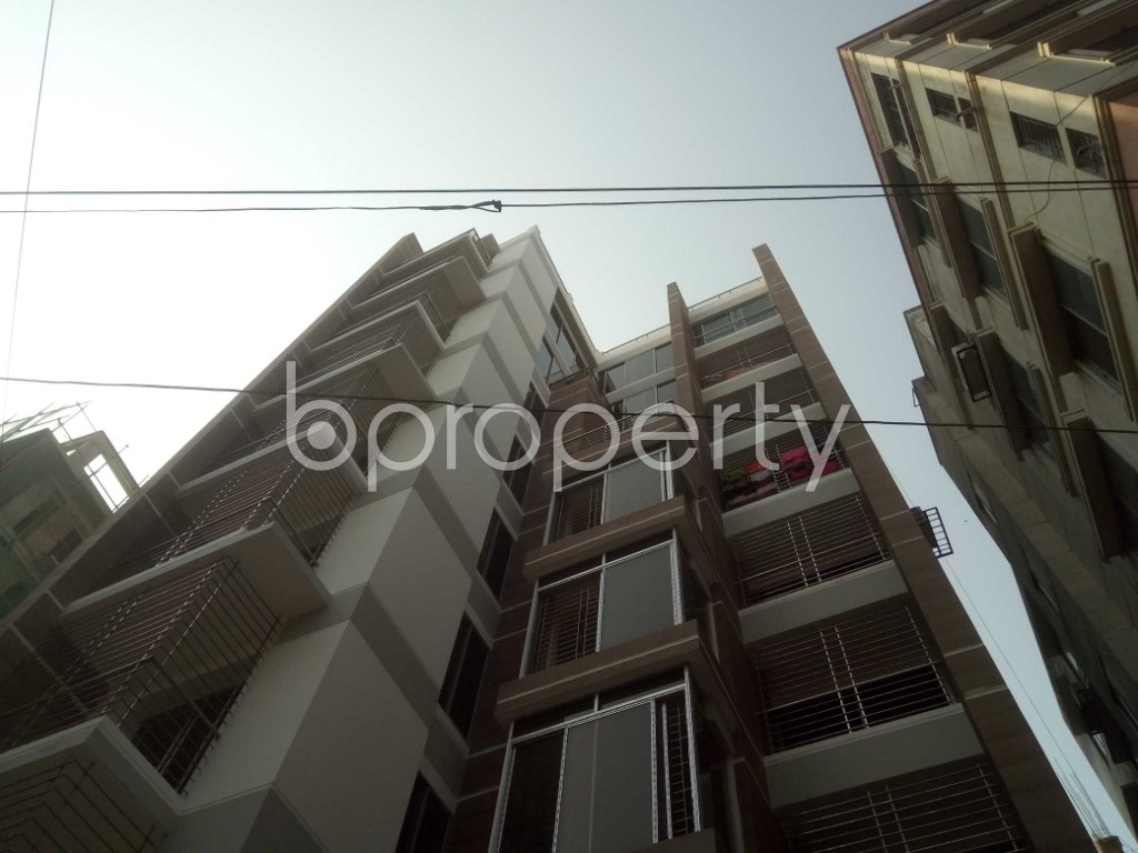 Front view - 2 Bed Apartment to Rent in Lalmatia, Dhaka - 1871237