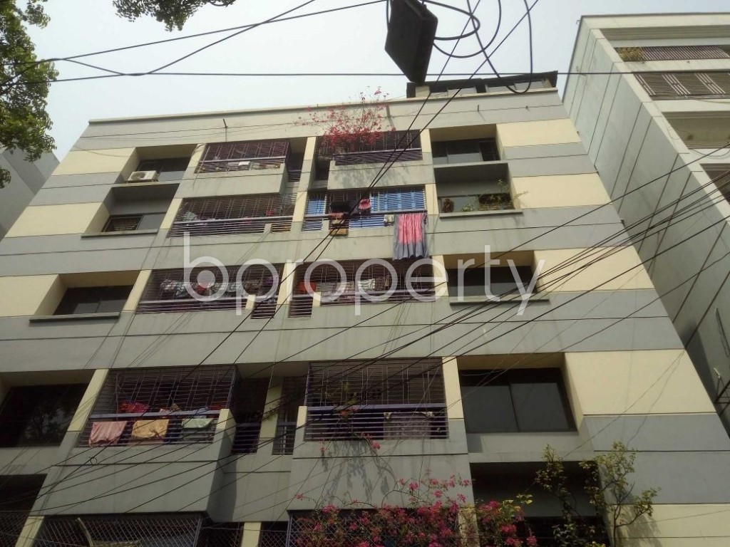 Front view - 3 Bed Apartment to Rent in Lalmatia, Dhaka - 1871532