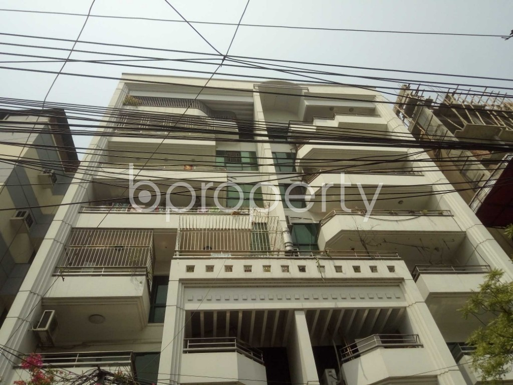 Front view - 3 Bed Apartment to Rent in Lalmatia, Dhaka - 1871546