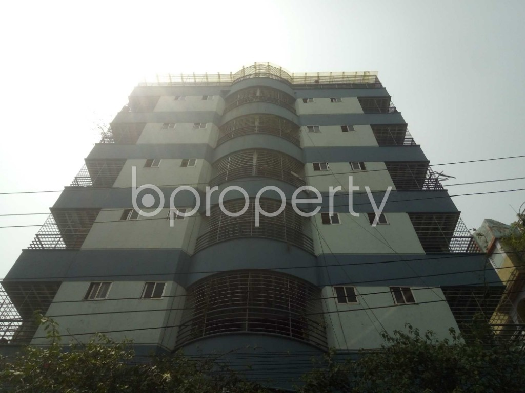 Front view - 3 Bed Apartment for Sale in Lalmatia, Dhaka - 1871605