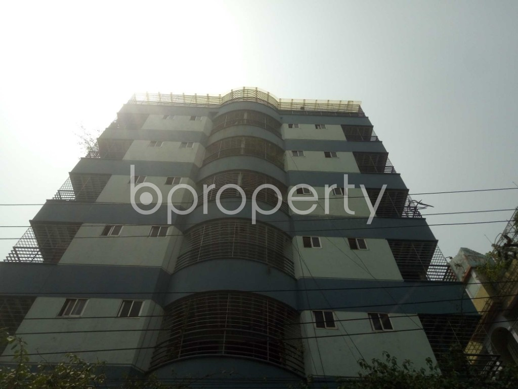 Front view - 3 Bed Apartment for Sale in Lalmatia, Dhaka - 1871604