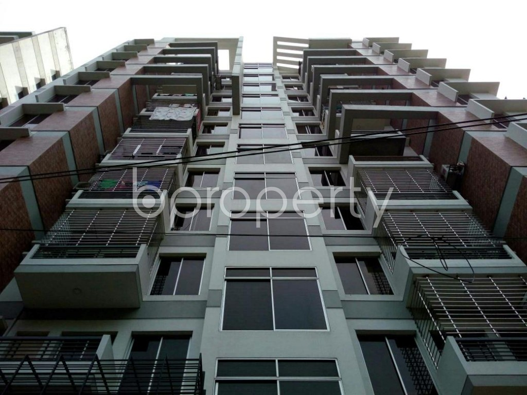 Front view - 4 Bed Apartment for Sale in Dhanmondi, Dhaka - 1871662