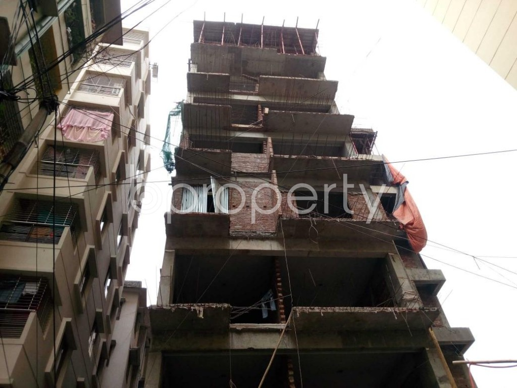 Front view - 4 Bed Apartment for Sale in Shegunbagicha, Dhaka - 1866003