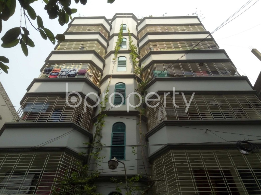 Front view - 3 Bed Apartment to Rent in Lalmatia, Dhaka - 1871717