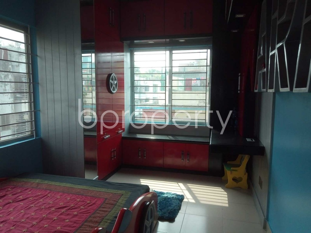 Bedroom - 3 Bed Apartment to Rent in Lalmatia, Dhaka - 1871743
